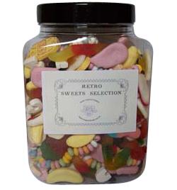 Jar of Retro Sweets