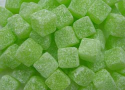 Sour Apple Cubes 3.5Kg Jar