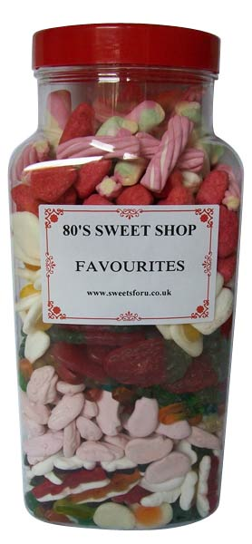 Jar of 80's Favourites